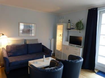 Doppelbettsofa mit 63 cm Liegehöhe