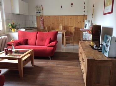 Küchenzeile im Wohnbereich