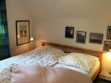 Schlafzimmer mit direktem Zugang zum Bad