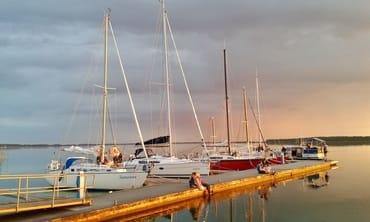 Inselimpression - Hafen Rankwitz