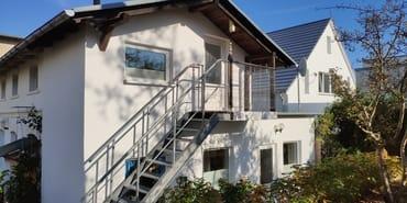 Gartenhaus der Villa See-Eck - Zugang Wohnung Dachgeschoss