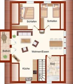 Grundriss (Obergeschoss)
