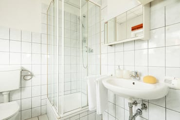 Gartenhaus der Villa See-Eck - Whg. EG - Badezimmer