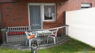 Außenbereich mit Terrasse