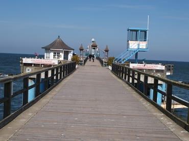 Ausflug zur Seebrücke Sellin mit Tauchgondel