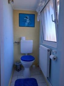 2. separates WC