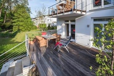 Terrasse zum Kurpark