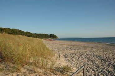 """Ein Traum...der Strand von Baabe...unmittelbar vor der """"FeWo Strandnähe"""""""