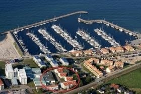 Luftaufnahme der Yachthafenresidenz