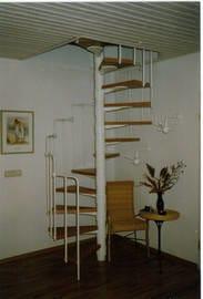 Treppenaufgang in den Schlafbereich