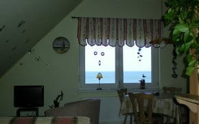 Wohnraum mit Meerblick