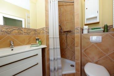 kleines Duschbad