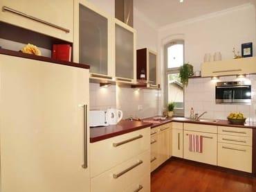 separate moderne Küche