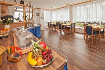 Frühstück optional für 7 EUR pro Person und Tag vor Ort buchbar