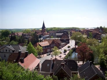 Das idyllische Städtchen Lütjenburg