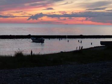 Ostsee Blickrichtung Dänemark