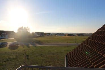 Blick vom Balkon Richtung Jasmunder Bodden