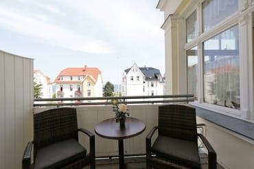 Balkon Seeseite