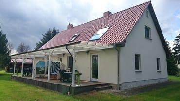 Terrassen der Ferienwohnungen