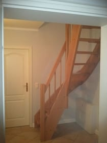 Treppe zum Mansardenzimmer