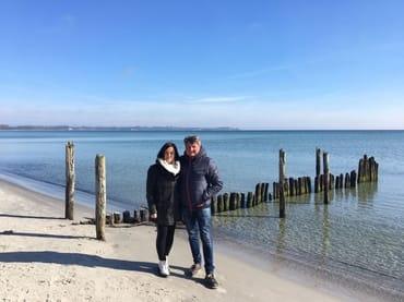 Ihre Vermieter Frank und Ramona Sperlich wünschen Ihnen einen erholsamen Urlaub am Meer!!!