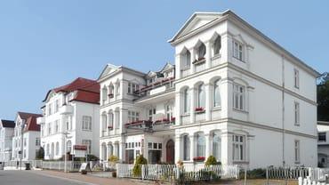 Die Villa Meeresblick an der schönen Bergstraße
