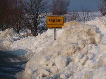 Kägsdorf im Schnee