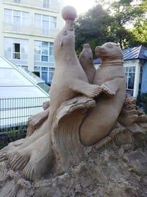 Sand-Skulpturen