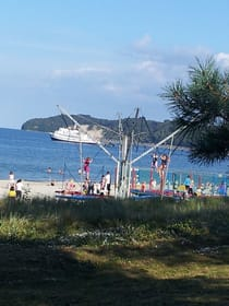 Strand und Seebrücke Binz