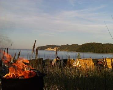 Romantik an der Strand-Bucht  Ostseebad Binz