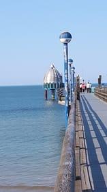 Tauchgondel an der Seebrücke