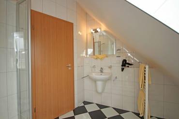 Dusch - Bad im Dachgeschoss