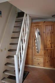 Ansicht Treppe ins Dachgeschoss
