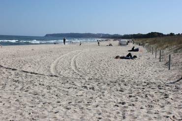 Strand in Baabe