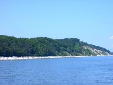 Blick auf die Steilküste die sich von Bansin bis Ückeritz erstreckt