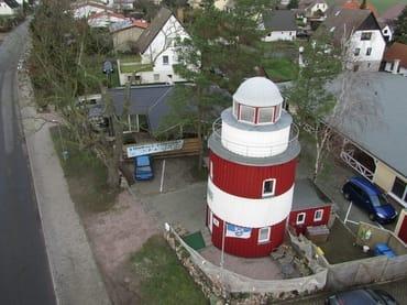 Leuchtturm von oben