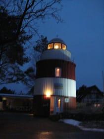Fewo Leuchtturm bei Nacht