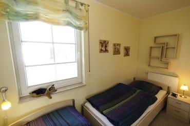 Unser 2. Schlafzimmer mit 2 Einzelbetten