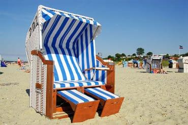 Ein Strandkorb ist für Sie reserviert.