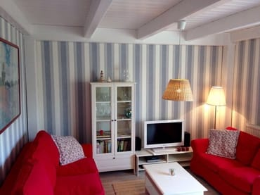 Wohnzimmer mit gemütlichem Sitzbereich
