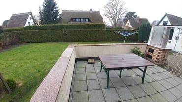 Terrassenbereich mit Grill
