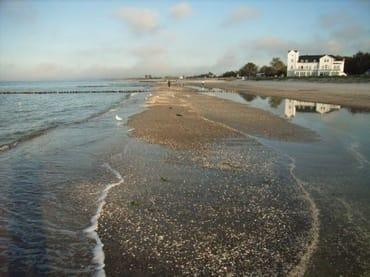 Ostseestrand im Herbst - Heiligendamm