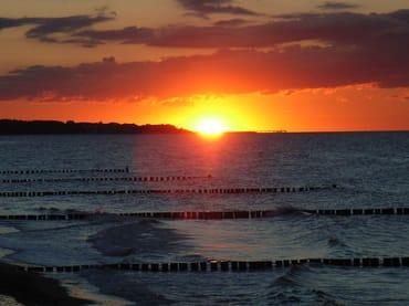 Sonnenuntergang Heiligendamm
