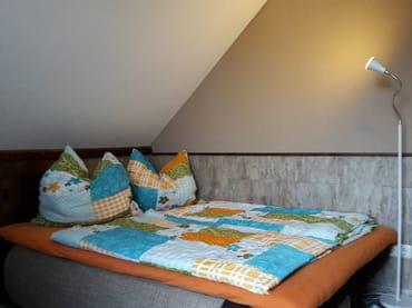 Schlafcouch für 2 Personen mit Visco - Topper ( Auflage) schön weich...