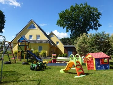 Großer Kinderspielplatz