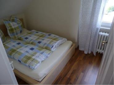 kleineres Schlafzimmer