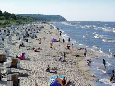 Im Hochsommer am Strand