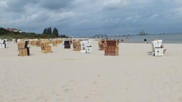 Strandabschnitt bei der Ferienwohnung