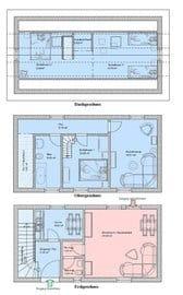 Villa Malve Hinterhaus Grundriss