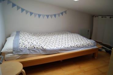 Klein, aber fein: die Schlaf-Kammer für Kinder